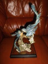 Capodimonte porcellana personaggio Papagai Giuseppe Armani Tropical gossip Ltd 3000