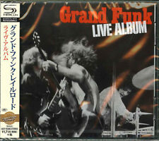 GRAND FUNK RAILROAD-LIVE ALBUM-JAPAN SHM-CD D50