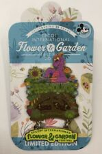 Disney Pin Epcot Flower And Garden Festival 2018 Figment Annual Passholder Pin