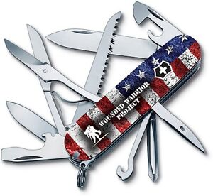 Victorinox Fieldmaster Wounded Warrior Project Swiss Army Knife - Switzerland