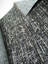 7 metres black/grey/brown upholstery fabric