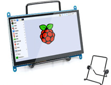 "7.0"" Inch 1024x600 Raspberry Pi Capacitive Touch Screen LCD Display HDMI Monitor"