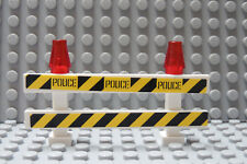 LEGO Police Barricade (Stickers) Road Sign Traffic Control