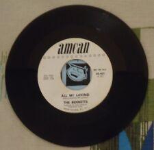 The Bennetts 45 All My Loving 1964 Girl Group Beatles Cover VG++
