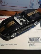 Burago 1:18 Scale Die Cast Shelby Series 1 With Stand