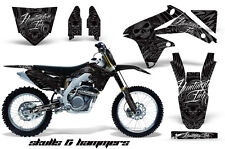 AMR Racing Suzuki RMZ450 Graphic Decals Number Plate Kit MX Stickers 08-15 SH S