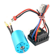 RC HSP 107051  BRUSHLESS 540 Motor 3300KV + 37017 Waterproof BRUSHLESS ESC 60A