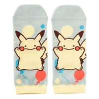 Pokemon Center Transform Ditto Pikachu Socks for Women 23 - 25 cm 1 Pair