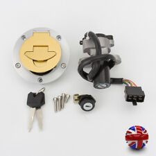 UK Ignition Switch Fuel Gas Cap With Lock Keys Set For Ducati Monster750 1996-02