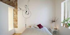 Wall Room Decor Art Vinyl Sticker Mural Decal Ballet Dance Women Ballerina FI366