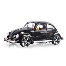 1:18 Classic Beetle Superior 1967 Diecast Car Model Toy Vehicle Kids Gift Black