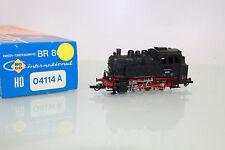 Roco Spur H0 04114A Dampflok BR 80 023 Rangier-Tenderlok der DB in OVP (LL6757)