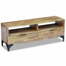 vidaXL TV Stand Shelf Cabinet Sideboard Console Table Mango Wood 120x35x45 cm
