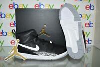 Jordan Legacy 312 AT4047 001 Boys Basketball Shoes Black/White NIB