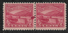 US #681 (1929) 2c Ohio River Canalization - EFO: Ink Spot (UFO) - MNH