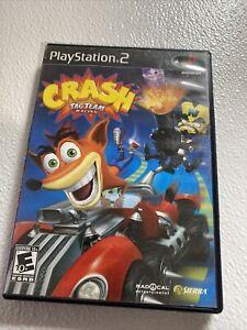 Crash: Tag Team Racing (Sony PlayStation 2, 2005) PS2 NO Disk Part Of A Set
