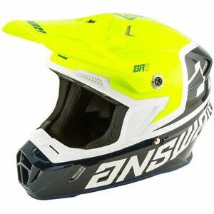 2020 Answer AR1 Voyd Helmet Midnight/Hyper Acid/White adults