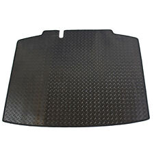 Skoda Rapid Spaceback 2012+ Fully Tailored Black Rubber Car Boot Mat