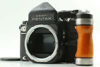 *NEAR MINT*  Asahi Pentax 6x7 67 TTL Mirror Up Medium Format Camera Body w/Grip