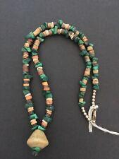 PRE-COLUMBIAN BEAD NECKLACE MOCHE PERU CIRCA 100 - 800 AD RARE