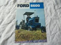 Ford 6600 series tractor brochure