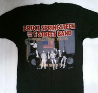 Vintage 1985 Bruce Springsteen Born In The USA T-Shirt 80s E Street Band Concert