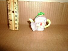 Miniature Figure Red Rose Teapot Refridgerator 1923 Lot#7
