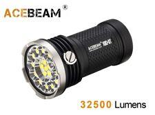 Acebeam X80-gt 18x CREE Xhp50.2 32500 Lumens LED Flashlight 4x 18650 Battery