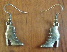 Boucles d'oreilles bronze bottine à talon 23x16 mm