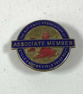 The National Association Of Cycle & Motor Cycle Traders Associate Member Badge