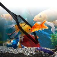 Square Shrimp Goldfish Fish Net Aquarium Fish Tank Pond Landing Cleaning Tool、UK