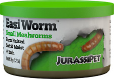 JurassiDiet Meals Worms Small 35g Aqua Fish Reptile Lizard Frog Turtle amphibian