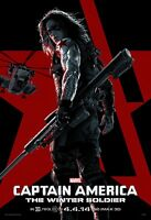 Captain America poster - The Winter Soldier poster - 11 x 17 - Bucky poster