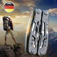 Multifunktions Edelstahl MultiTool Tasche Messer Zange Klappzange Outdoor Tool !