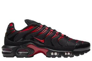 Nike Air Max Plus Tn Schwarz Rot Herrenschuhe Turnschuhe Sneaker CU4864 001  TOP