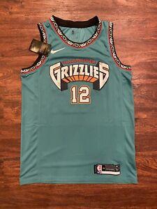 Ja Morant Memphis Grizzlies #12 Jersey MEDIUM NWT City Edition RARE  Throwback