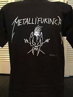 Metallica Metallifukinca Tour Shirt Sz M/L Morbid Death Slayer Rock Thrash Metal