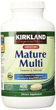 Kirkland Signature Adults 50+ Mature Multi, 400 Tablets