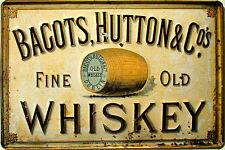 Old Faithful Whiskey Blechschild Flach Neu aus USA 31x40cm mit Bset Sammler-Werbeschilder Sammeln & Seltenes