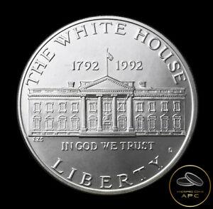 1992 D White House Commemorative 90% Silver Dollar Coin Super GEM BU+++ Unc