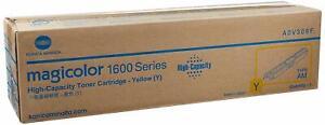 Genuine KONICA MINOLTA MagiColor 1600W 1680MF 1690MF H/Y Yellow Toner A0V306F