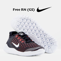 Nike Free RN 2018 (GS) Youth Running Shoes AH3457 Black Pink size 4 5 6 7 Y