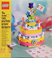 LEGO Iconic 40382 Geburtstagsset Clown Torte von 1-99 Exclusiv RAR NEU Sealed