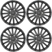 """Streetwize SWUX62 15"""" Matt Black Wheel Trims Hub Caps Covers fits Ford Fiesta"""
