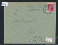 91932) DR   DDR Landpost Ra2 Rückersdorf Schmölln (Thüring.) Land Brief 1931