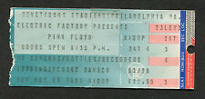 1988 Pink Floyd concert ticket stub Momentary Lapse of Reason Philadelphia
