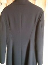 CAPPOTTO DONNA LANA TG 42 NERO made in italy