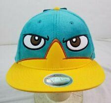 Phineas & Ferb Snapback Hat NWT NEW Wheres Perry? Big Eyes Cap Disney Vintage