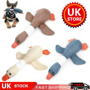 Pet Dogs Interactive Chew Toys Indestructible Stuffed Squeaky Toy Sound Squeak