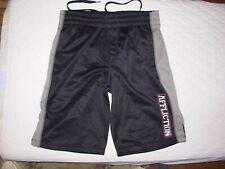 Affliction Performance Men's Sport Board Shorts Size Small (S) Black/Gray (CB-3)